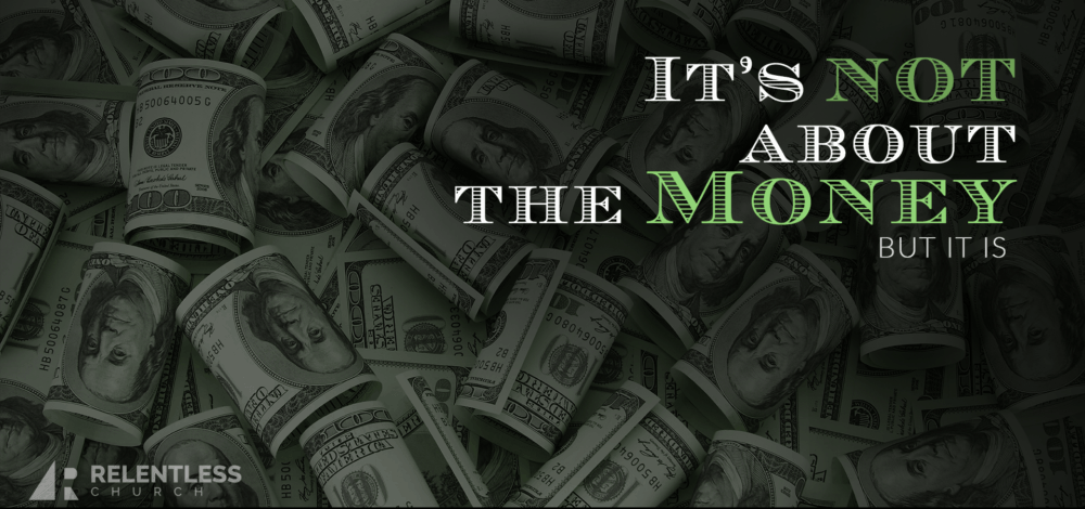 It's Not About The Money (But It Is) #1 Image