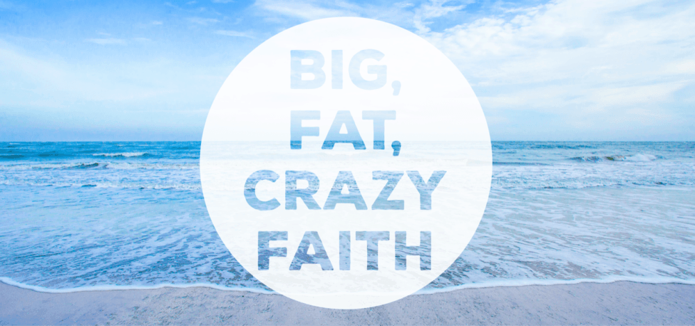 Big Fat Crazy Faith #1: Faith Is My Activator Image