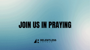Join us in praying