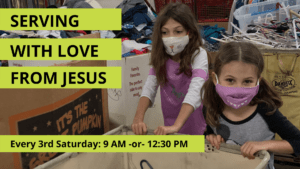 Serving at With Love From Jesus